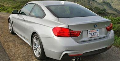 Manual BMW 435i Coupe 2016-2014 de Usuario