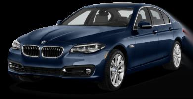 Manual BMW 5 Series Sedan 2016-2015 de Usuario