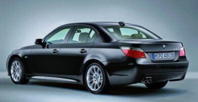 Manual BMW 530i 2001-2007 de Usuario