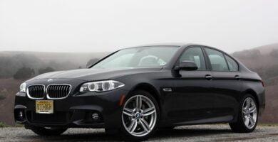 Manual BMW 535d Sedan 2014-2016 de Usuario