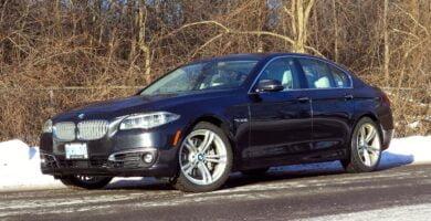 Manual BMW 535d xDrive Sedan 2014-2016 de Usuario