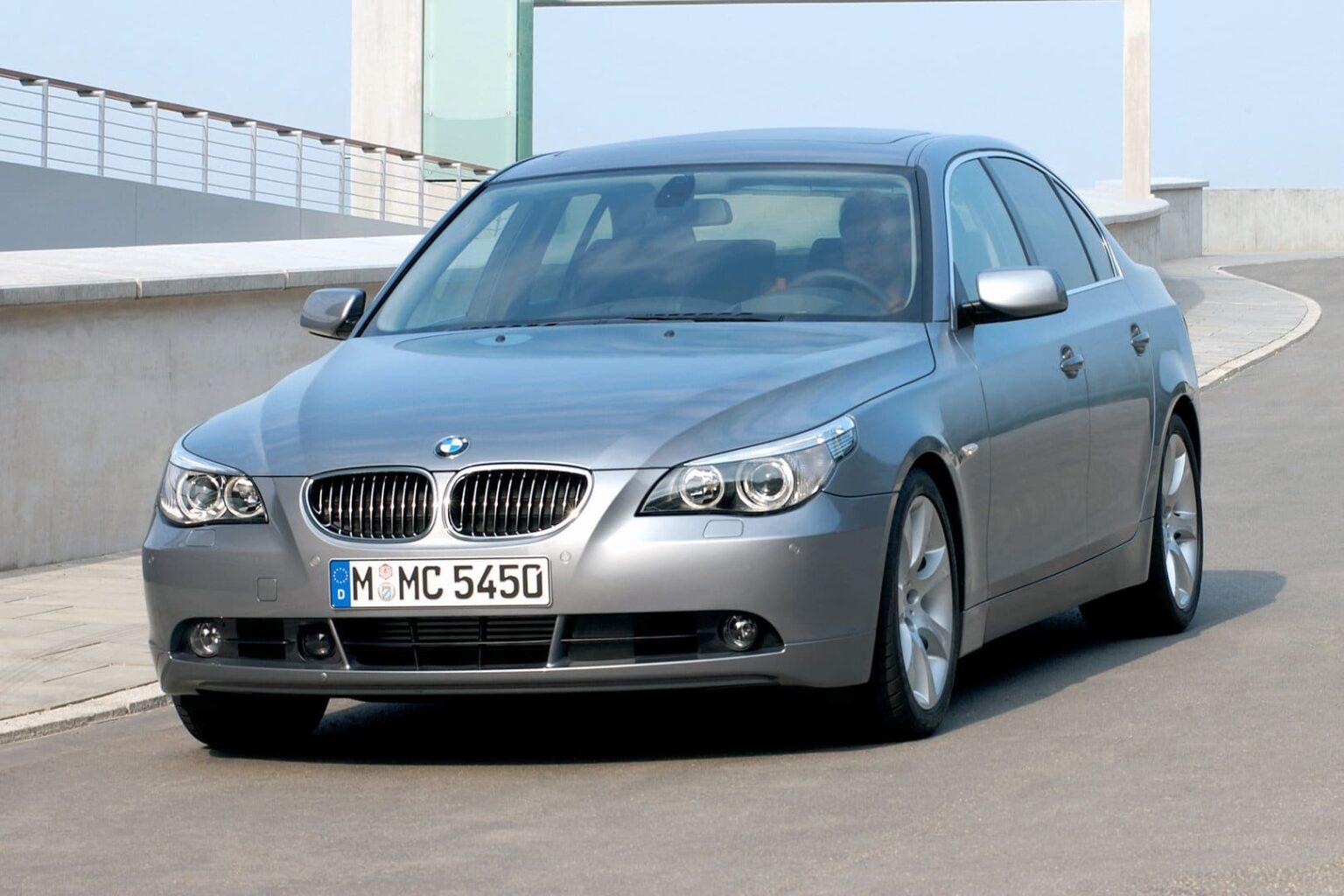 Manual BMW 545i 2004-2005 de Usuario