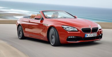 Manual BMW 6 Series Convertible 2015-2016 de Usuario