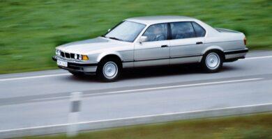 Manual BMW 7 Series 1992 de Usuario
