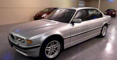 Manual BMW 740iL 1998-2001 de Usuario