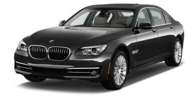 Manual BMW 750i Sedan 2007-2015 de Usuario