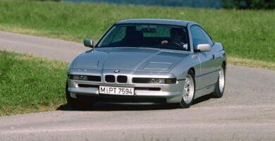 Manual BMW 850i Coupe 1998 de Usuario