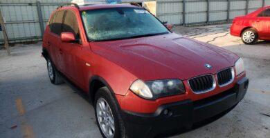 Manual BMW X3 2.5i 2004-2006 de Usuario