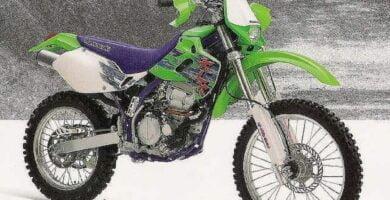 Manual Moto KAWASAKI KXL 1996 de Usuario PDF GRATIS