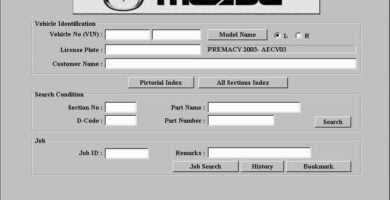 Descarga MAZDA EPC ll 2019 Catalogo de Partes