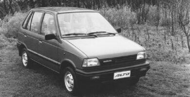 Catalogo de Partes SUZUKI CELERIO 1980 AutoPartes y Refacciones
