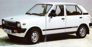 Catalogo de Partes SUZUKI FRONTE 1980 AutoPartes y Refacciones
