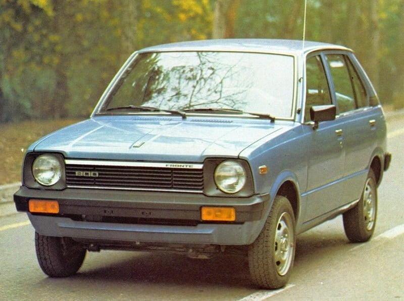 Catalogo de Partes SUZUKI FRONTE 1982 AutoPartes y Refacciones