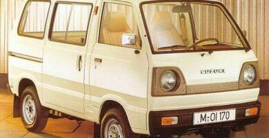 Catalogo de Partes SUZUKI CARRY 1983 AutoPartes y Refacciones