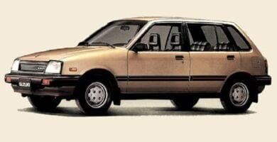 Catalogo de Partes SUZUKI CELERIO 1983 AutoPartes y Refacciones