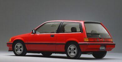 Catalogo de Partes CIVIC 3 PUERTAS HONDA 1984 AutoPartes y Refacciones