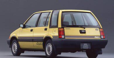 Catalogo de Partes CIVIC SHUTTLE HONDA 1984 AutoPartes y Refacciones