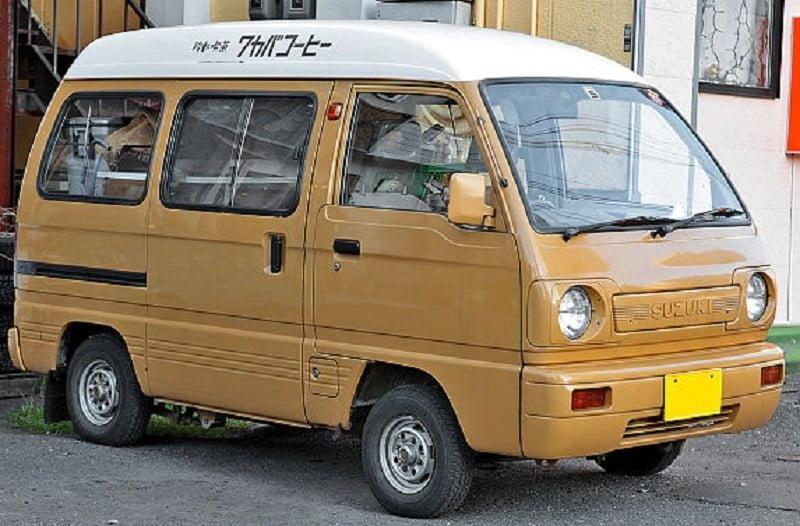 Catalogo de Partes SUZUKI EVERY 1984 AutoPartes y Refacciones