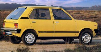 Catalogo de Partes SUZUKI FRONTE 1984 AutoPartes y Refacciones