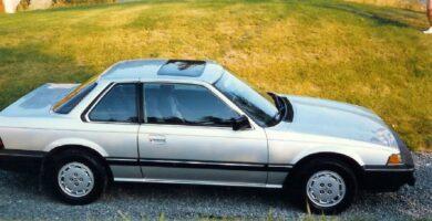 Catalogo de Partes PRELUDE HONDA 1984 AutoPartes y Refacciones