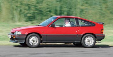 Catalogo de Partes CIVIC CRX HONDA 1985 AutoPartes y Refacciones