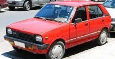 Catalogo de Partes SUZUKI FRONTE 1985 AutoPartes y Refacciones