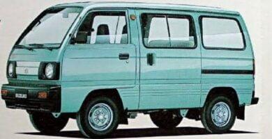 Catalogo de Partes SUZUKI CARRY 1986 AutoPartes y Refacciones