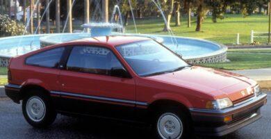Catalogo de Partes CIVIC CRX HONDA 1986 AutoPartes y Refacciones