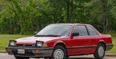Catalogo de Partes PRELUDE HONDA 1986 AutoPartes y Refacciones