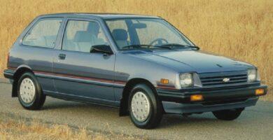 Catalogo de Partes SUZUKI SPRINT 1986 AutoPartes y Refacciones