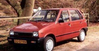 Catalogo de Partes SUZUKI CELERIO 1987 AutoPartes y Refacciones