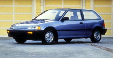 Catalogo de Partes CIVIC 3 PUERTAS HONDA 1987 AutoPartes y Refacciones