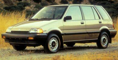 Catalogo de Partes CIVIC WAGON HONDA 1987 AutoPartes y Refacciones