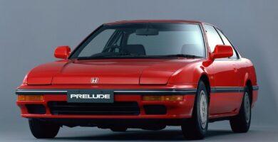 Catalogo de Partes PRELUDE HONDA 1987 AutoPartes y Refacciones