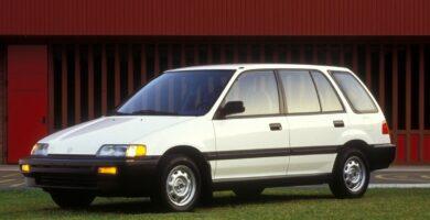 Catalogo de Partes CIVIC 3 PUERTAS HONDA 1988 AutoPartes y Refacciones