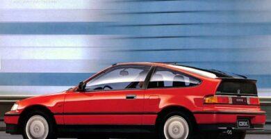 Catalogo de Partes CIVIC CRX HONDA 1988 AutoPartes y Refacciones