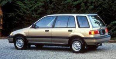 Catalogo de Partes CIVIC SHUTTLE HONDA 1988 AutoPartes y Refacciones