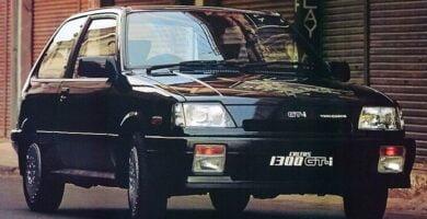 Catalogo de Partes SUZUKI FORSA 1988 AutoPartes y Refacciones