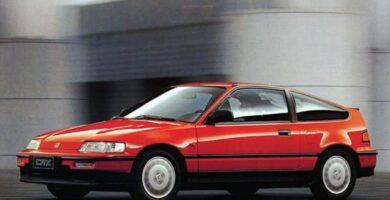 Catalogo de Partes CIVIC CRX HONDA 1989 AutoPartes y Refacciones