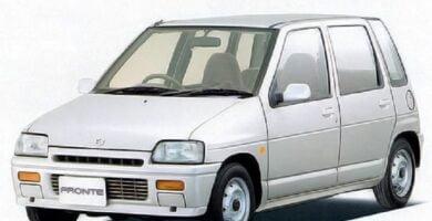 Catalogo de Partes SUZUKI FRONTE 1989 AutoPartes y Refacciones