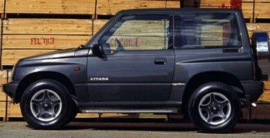 Catalogo de Partes SUZUKI VITARA 1989 AutoPartes y Refacciones