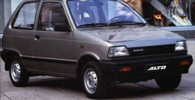Catalogo de Partes SUZUKI CELERIO 1990 AutoPartes y Refacciones