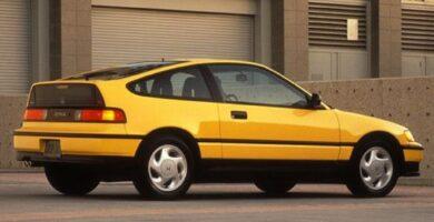 Catalogo de Partes CIVIC CRX HONDA 1990 AutoPartes y Refacciones