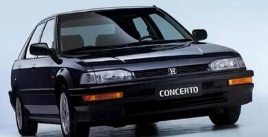 Catalogo de Partes CONCERTO HONDA 1990 AutoPartes y Refacciones