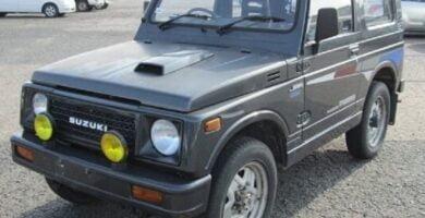 Catalogo de Partes SUZUKI JIMNY 1990 AutoPartes y Refacciones