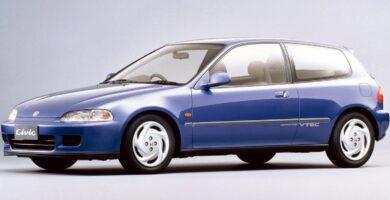 Catalogo de Partes CIVIC 3 PUERTAS HONDA 1993 AutoPartes y Refacciones