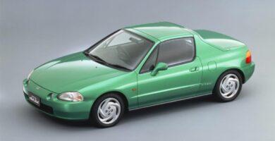 Catalogo de Partes CIVIC CRX HONDA 1993 AutoPartes y Refacciones