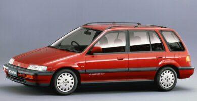 Catalogo de Partes CIVIC SHUTTLE HONDA 1993 AutoPartes y Refaccione