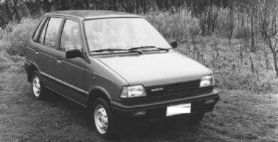 Catalogo de Partes SUZUKI FRONTE 1994 AutoPartes y Refacciones