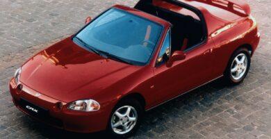 Catalogo de Partes CIVIC CRX HONDA 1995 AutoPartes y Refacciones